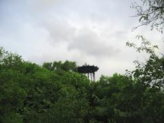 Chinese arbor. north caucasus landmarks. summer pyatigorsk Stock Photos