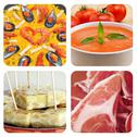 Stock Photo of spanish dishes and tapas collage
