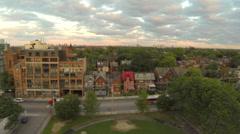 Urban Neighbourhood Stock Footage