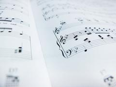 Sheet of Music - stock photo