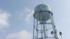 El Segundo Water Tower Stock Footage