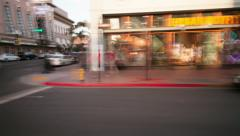 Downtown hyperlapse Stock Footage