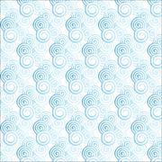 Light blue gradient spiral pattern - stock illustration