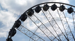 Fair Wheel Stock Footage