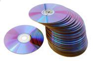 Laser disks Stock Photos
