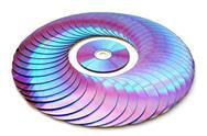 Laser disk Stock Photos
