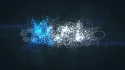 After Effects Project - Pond5 Clean Blue Stardust Glow Particles and Flares ...