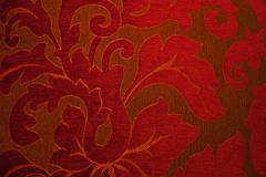 Red Fabriq Texture - stock photo