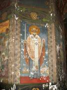 new aphon monastery. abkhazia. nicholas mirraclemaker icon - stock photo