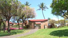 Hotel Resort in the Tropics Stock Footage