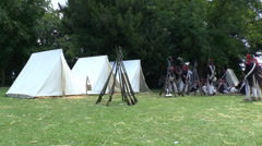 Waterloo battlefield, Belgium Stock Footage