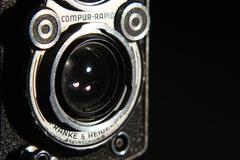 Rolleiflax lens - stock photo