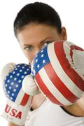 American punch Stock Photos