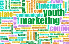 youth marketing - stock illustration