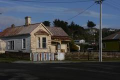 New Zealand House needing repairs - stock photo