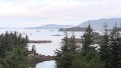 Fishing boats race, Sitka Stock Footage