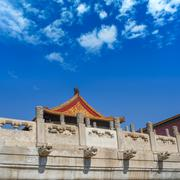 the forbidden city - stock photo