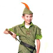 young robin hood - stock photo