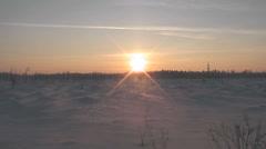 Sundown Stock Footage