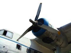 Propel air craft Stock Photos