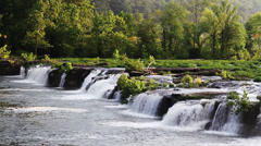 New River Waterfall Loop Stock Footage