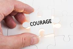 Courage concept Stock Photos