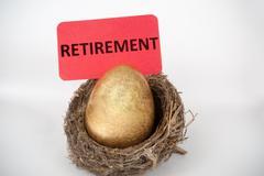 Stock Photo of retirement concept