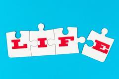 Stock Photo of life word
