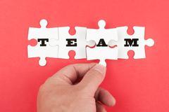 Stock Photo of team concept
