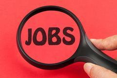 Stock Photo of jobs concept