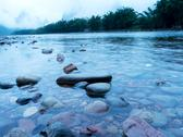 Stock Photo of river landscape in the morning