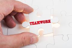 Stock Photo of teamwork concept