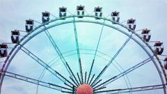 The Ferrish Wheels Stock Footage