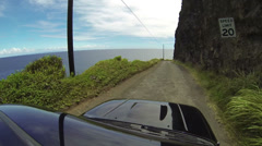 Stock Video Footage of Off Road Driving POV
