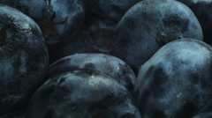 Huge blueberries. Stock Footage