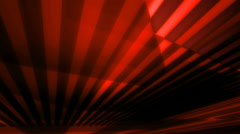 Red glow fan Stock Footage