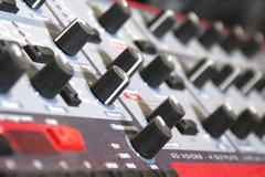 Vintage Synth 3 Stock Photos