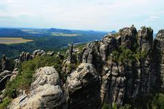 Stock Photo of Saxon Switzerland Summits