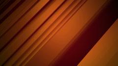 Orange ramp line Stock Footage