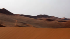 Stock Video Footage of deserts dune