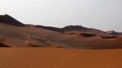 Deserts dune Stock Footage