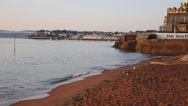 Stock Video Footage of Paignton Torbay Devon England near tourist destinations of