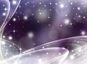 Stock Illustration of Glittery festive abstract background with stars