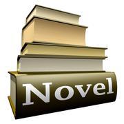 Education books - novel Stock Illustration