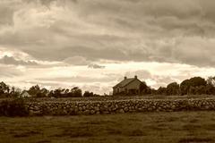 Rural Irish Cottage Stock Photos