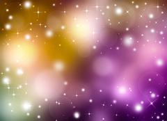 Stock Illustration of Glittery beautiful abstract background