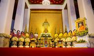 Stock Photo of funeral rites of buddhist supreme priests2