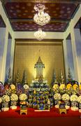 Funeral rites of buddhist supreme priests1 Stock Photos