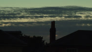 Stock Video Footage of rolling clouds