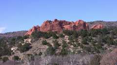 Garden of the Gods 4 Stock Footage